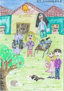 Annabelle - the characters of Chloe prime at school